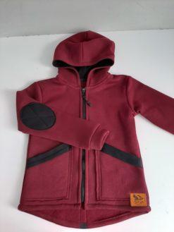bavlnená bunda s kapucňou