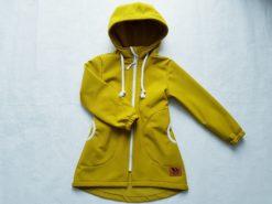 detská softshellová bunda s kapucňou