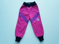 detské športové softshellové nohavice