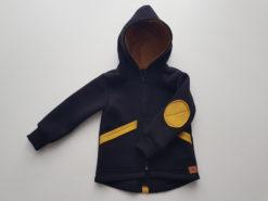 detská bavlnená bunda